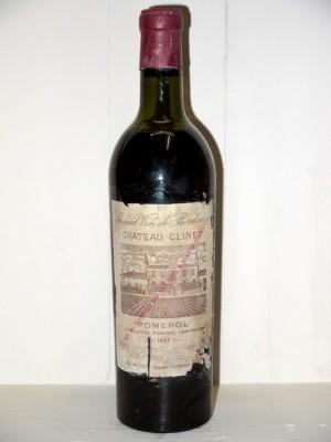 Vins anciens Pomerol - Lalande de Pomerol Château Clinet 1959
