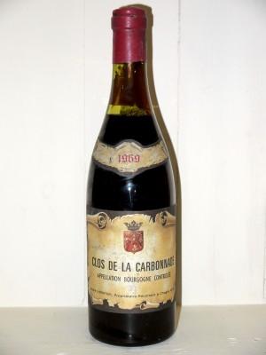 Clos de la Carbonnade 1969 Domaine Lhéritier