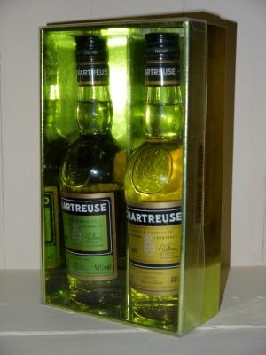 Chartreuse millesime Coffret Chartreuse Verte et Jaune