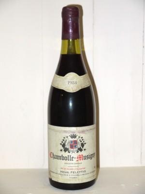 Chambolle-Musigny 1984 Domaine Henri Felettig