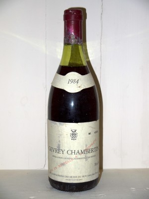 "Gevrey-Chambertin 1984 ""les compagnons des Muids du Roy"""