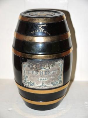 Grand Spiritueux Cognac Hennessy VSOP Reserve Green Barrel Années 50/60
