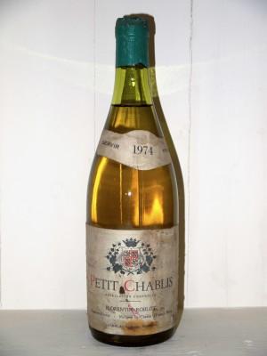 Petit Chablis 1974 Maison Florentin Roblot