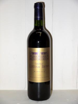 Grands crus Margaux Château Cantenac Brown 1999