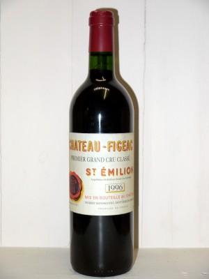 Vins de collection Saint-Émilion Château Figeac 1996