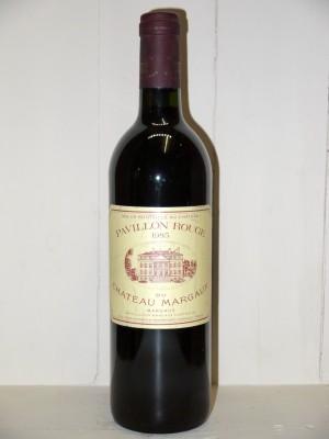 Vins de collection Margaux Château Margaux Pavillon Rouge 1985