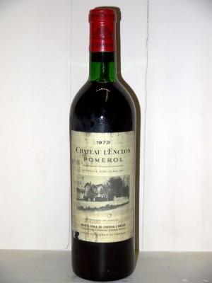 Vins grands crus Pomerol - Lalande de Pomerol Château L'Enclos 1973