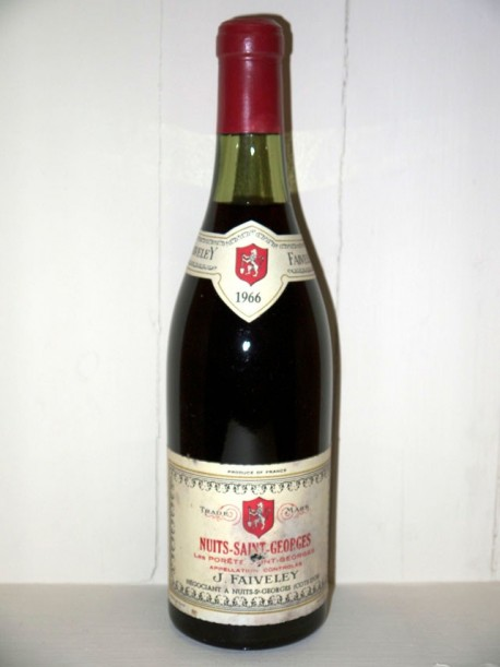 Nuits-Saint-Georges 1er cru Les Porets 1966 Domaine Faiveley