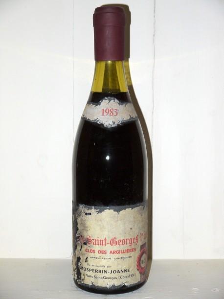 """Nuits-Saint-Georges """"Clos des Argillières"""" 1983 Domaine Grosperrin-Joanne"""