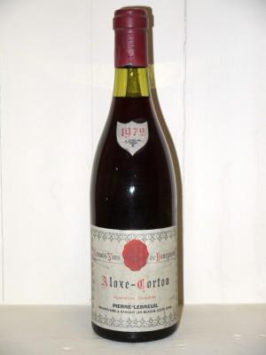 Aloxe-Corton 1972 Domaine Pierre Lebreuil