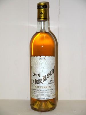 Grands crus Sauternes - Barsac - Loupiac Château La Tour Blanche 1979