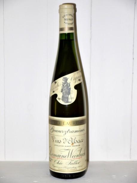 """Domaine Weinbach Clos des Capucins 1988 """"Cuvée Laurence"""""""