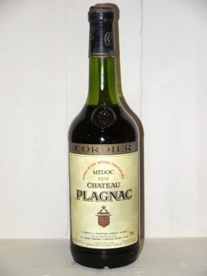Millesime prestige Médoc Château Plagnac 1976