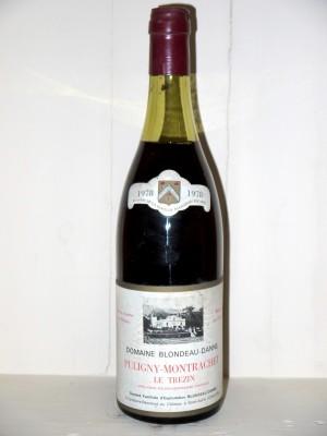 """Puligny-Montrachet 1978 """"Le Trezin"""" Domaine Blondeau-Danne"""