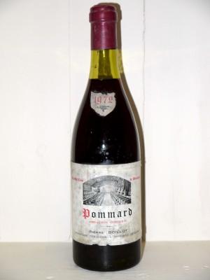 Vins grands crus Pommard Pommard 1972 Domaine Pierre Boillot