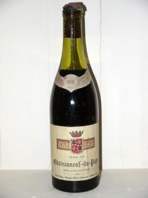 Vins de collection Châteauneuf du Pape Chateauneuf du Pape 1970 Maison Robin