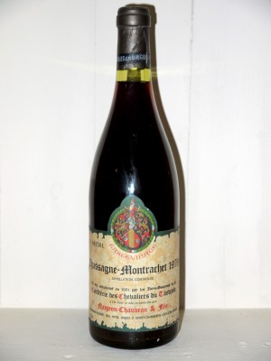 Chassagne-Montrachet 1979 Tastevinage Domaine Naigeon-Chauveau
