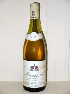 """Meursault """"les vireuils"""" 1987 Domaine Bachelet"""