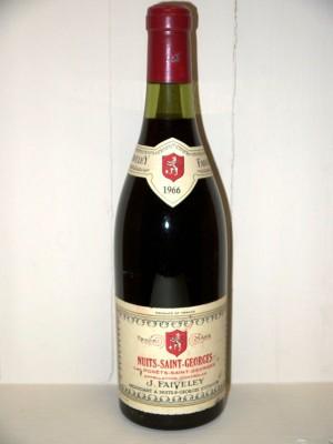 Grands vins Vosne-Romanée Nuits-Saint-Georges 1er cru Les Porets 1966 Domaine Faiveley