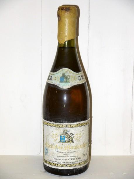 Chevalier-Montrachet 1952 Domaine Henri Clerc & fils