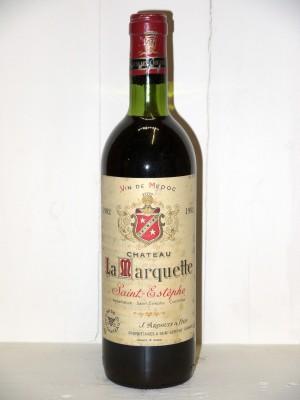 Château La Marquette 1982