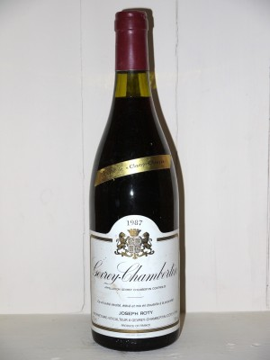 "Gevrey-Chambertin 1987 ""Cuvée de Champs-Chenys"" Joseph Roty"