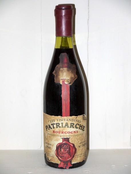 """Bourgogne """"Cuvée Visitandines"""" 1969 Patriarche"""