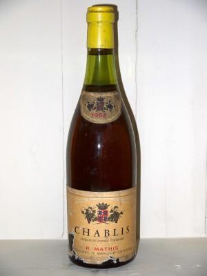 Grands crus Chablis Chablis 1962 R.Mathis