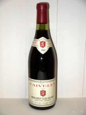 Grands crus Nuits-Saint-Georges Mercurey Clos du roy 1967 Domaine Faiveley