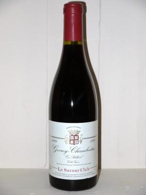 "Gevrey-Chambertin 1998 ""En Billard"" Vieilles Vignes Le Savour Club"