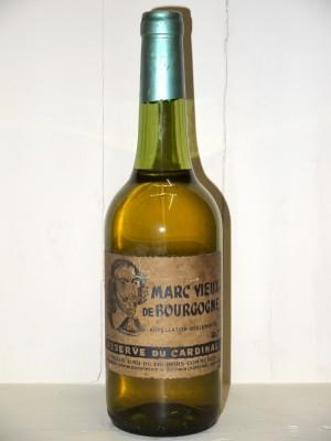 """Grand Autres Marc Vieux de Bourgogne """"Reserve du cardinal' Années 50"""
