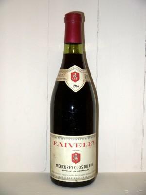 Mercurey Clos du roy 1967 Domaine Faiveley