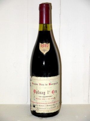 "Volnay 1er Cru ""En Champans"" 1987 Domaine Monthelie-Douhairet"