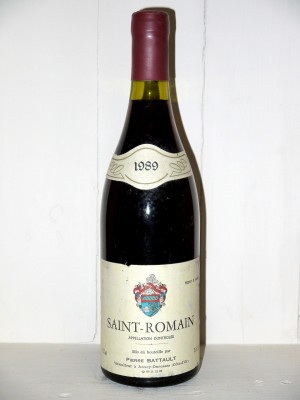 Saint-Romain 1989 Domaine Battault