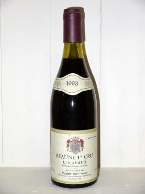 """Vins de collection Beaune - Savigny-les-Beaune Beaune 1er Cru """"Les Avaux"""" 1993 Domaine Battault"""