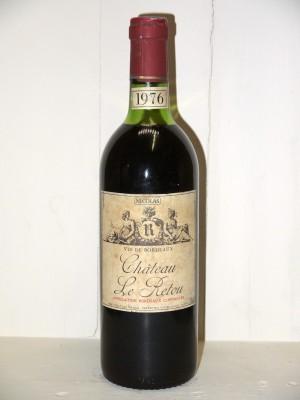 Grands vins Autres appellations de Bordeaux Château Le Retou 1976