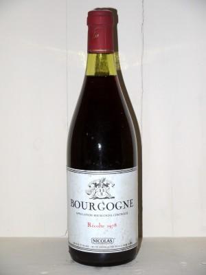 Bourgogne 1978 Nicolas
