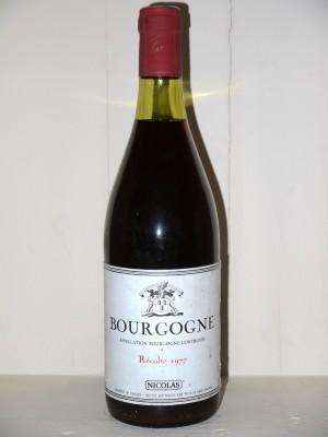 Bourgogne 1977 Nicolas