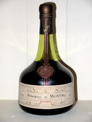 Armagnac millesime Armagnac de Montal Reserve en caisse bois d'origine