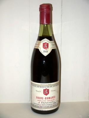 Grand Champagne Vosne Romanée 1964 Domaine Faiveley
