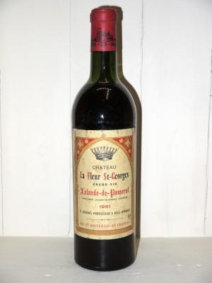 Vins de collection Pomerol - Lalande de Pomerol Château La Fleur St-Georges 1961