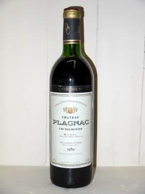 Château Plagnac 1989