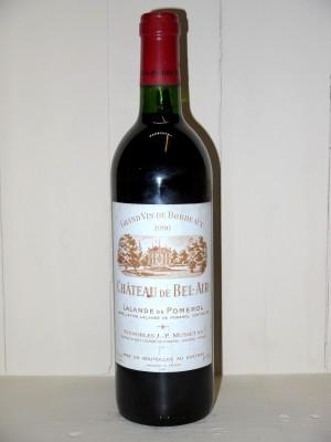 Vins anciens Pomerol - Lalande de Pomerol Château de Bel-Air 1990