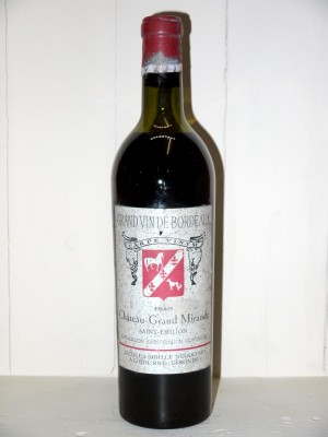 Château Grand Mirande 1949