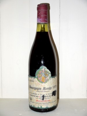Bourgogne Rouge 1979 Tastevinage Moillard-Grivot