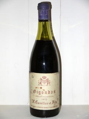 Grands vins Gigondas Gigondas 1973 H.Cuvelier & Fils