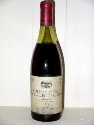 "Volnay 1er Cru ""Clos de la Bousse d'Or"" 1971"