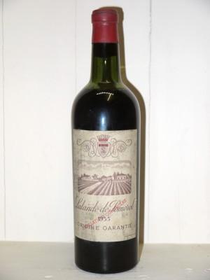 Vins grands crus Pomerol - Lalande de Pomerol Lalande de Pomerol 1955