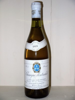 """Chassagne-Montrachet 1er Cru """"Les Vides Bourses"""" Dolmaine Jouard Gabriel"""