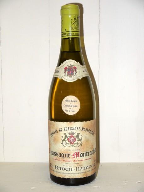 """Chassagne-Montrachet 1990 Bader-Mimeur """"Château de Chassagne-Montrachet"""""""